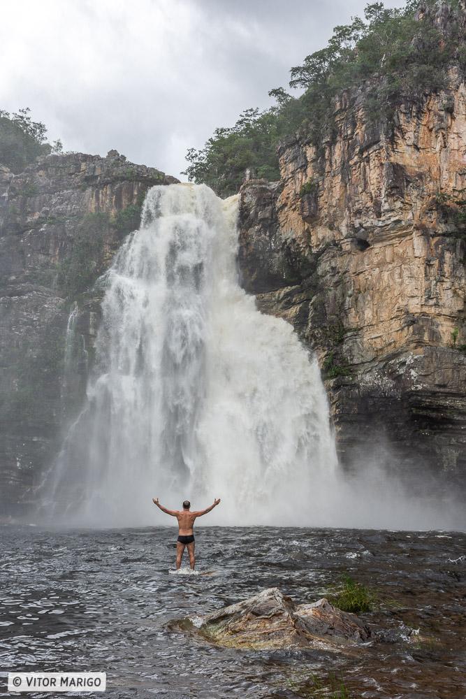 Roteiro Chapada dos Veadeiros - Cachoeira do Salto 80 metros