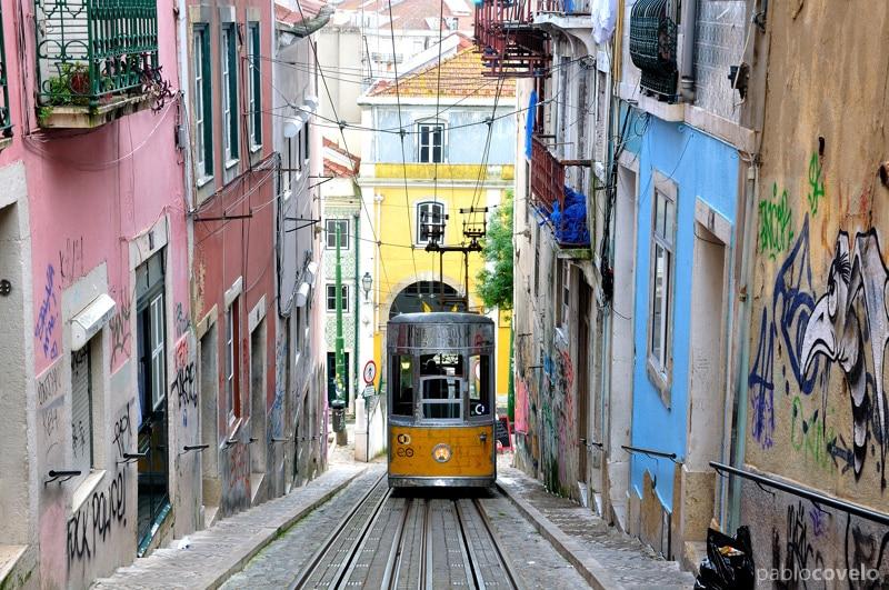 O que fazer em Lisboa | Dicas de Viagem - Ascensor da Bica