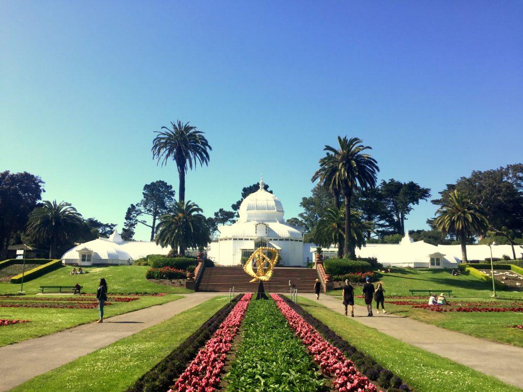 O que fazer em San Francisco - Conservatório de Flores