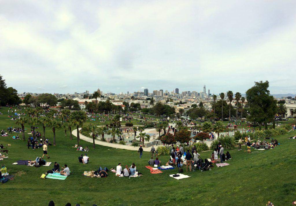 O que fazer em San Francisco - Dolores Park