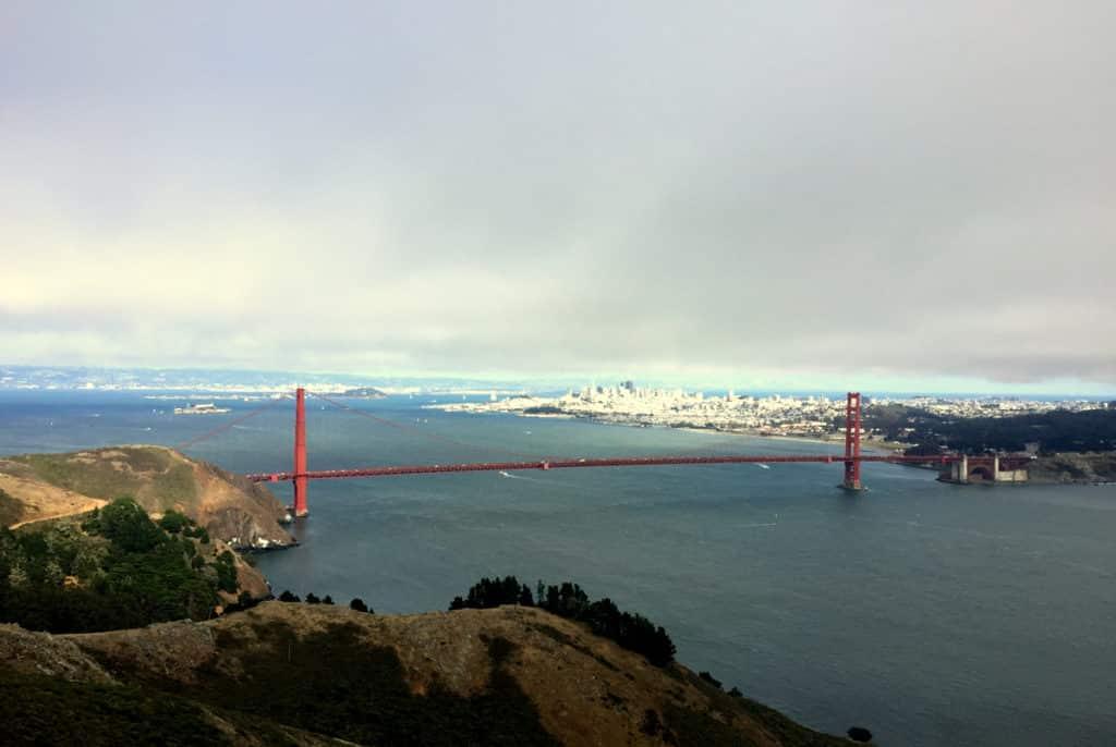 O que fazer em San Francisco - Golden Gate View Point