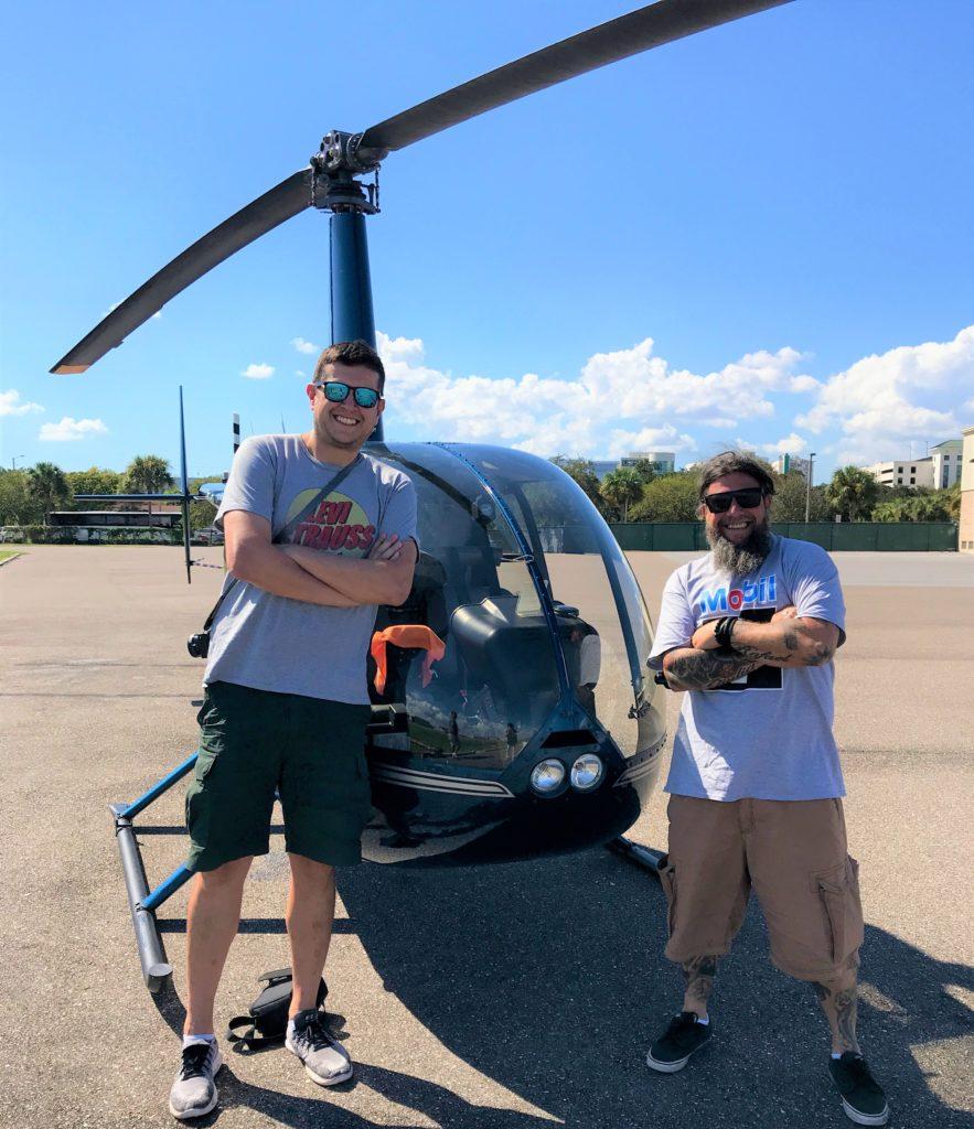 o que fazer em St Petersburg Florida - passeio de helicóptero