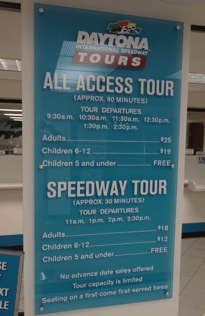 Horários e valores para conhecer o Daytona International Speedway