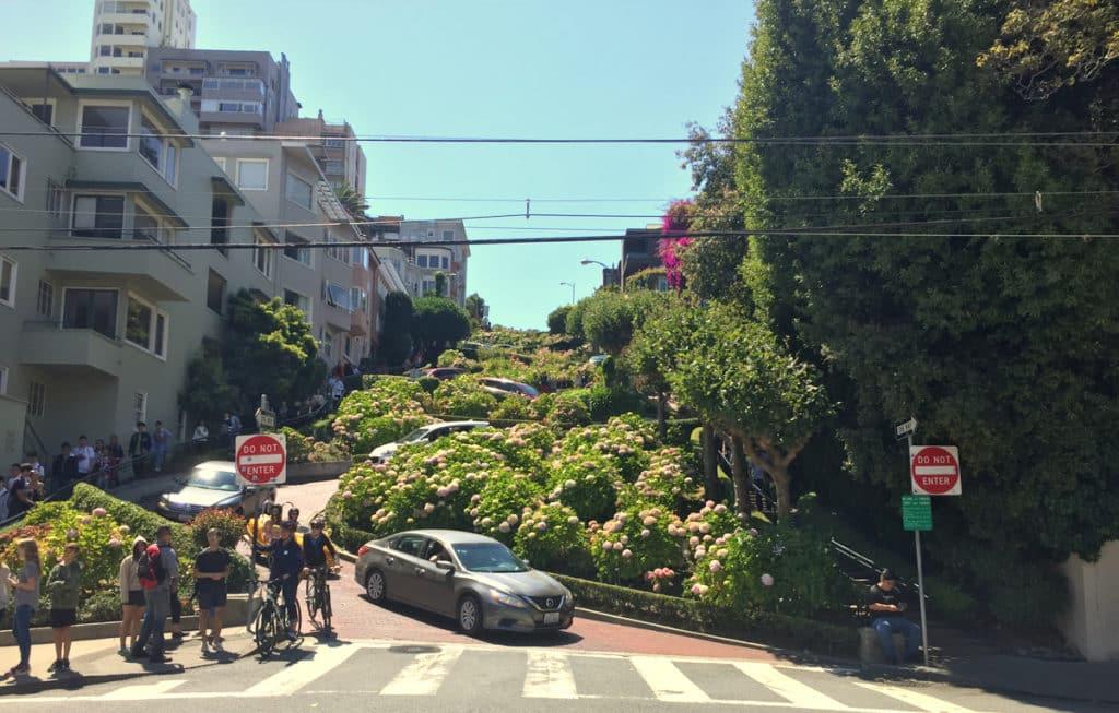 O que fazer em San Francisco California - Lombard Street