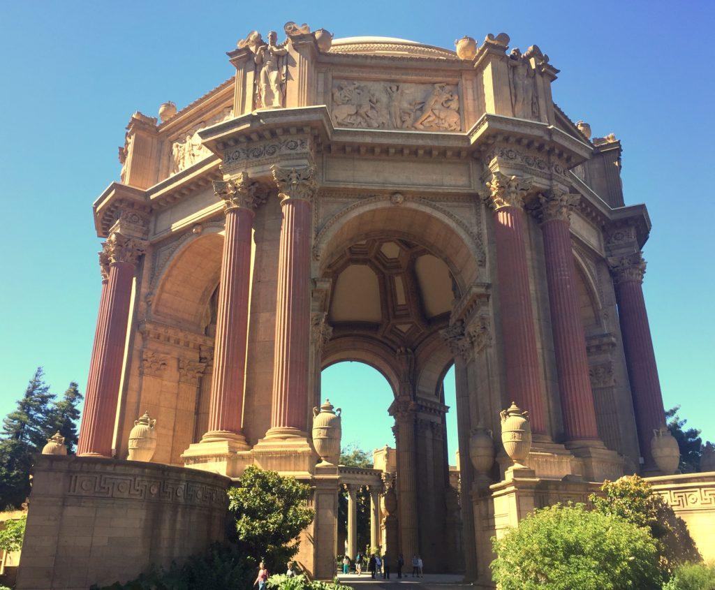 O que fazer em San Francisco - Palace of Fine Arts