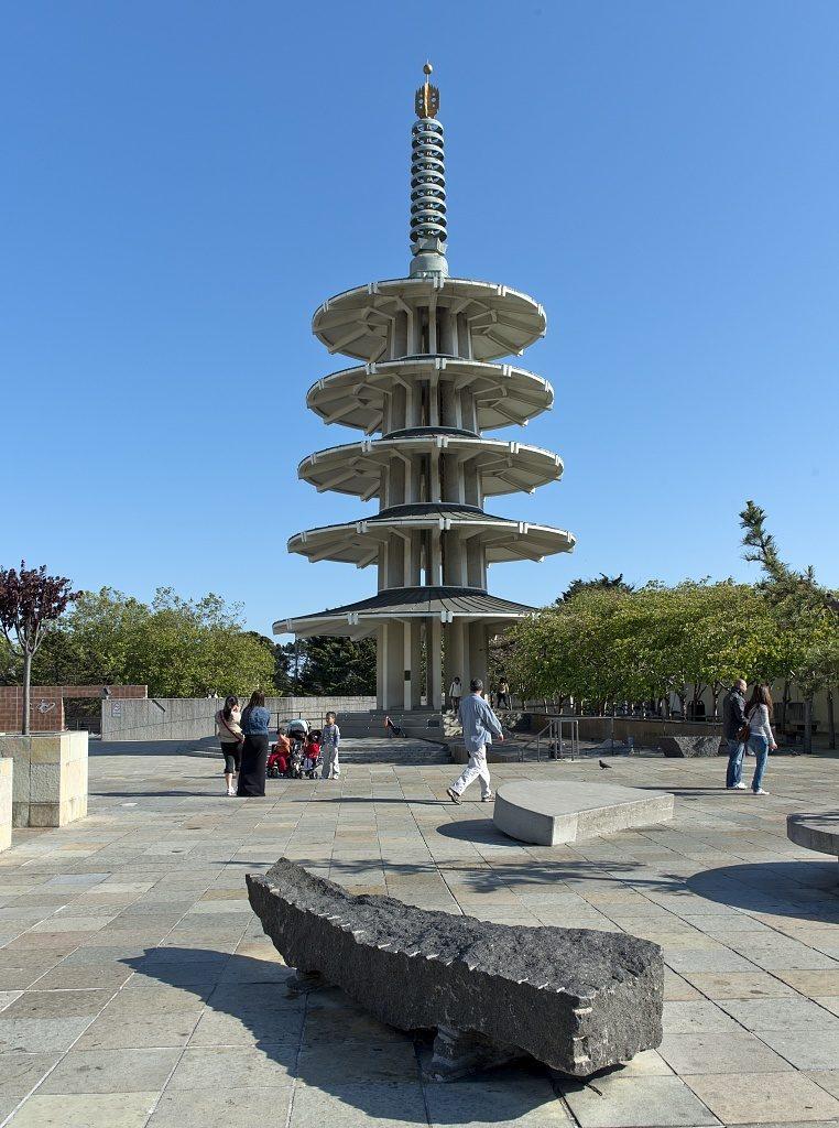 O que fazer em San Francisco - Peace Pagoda