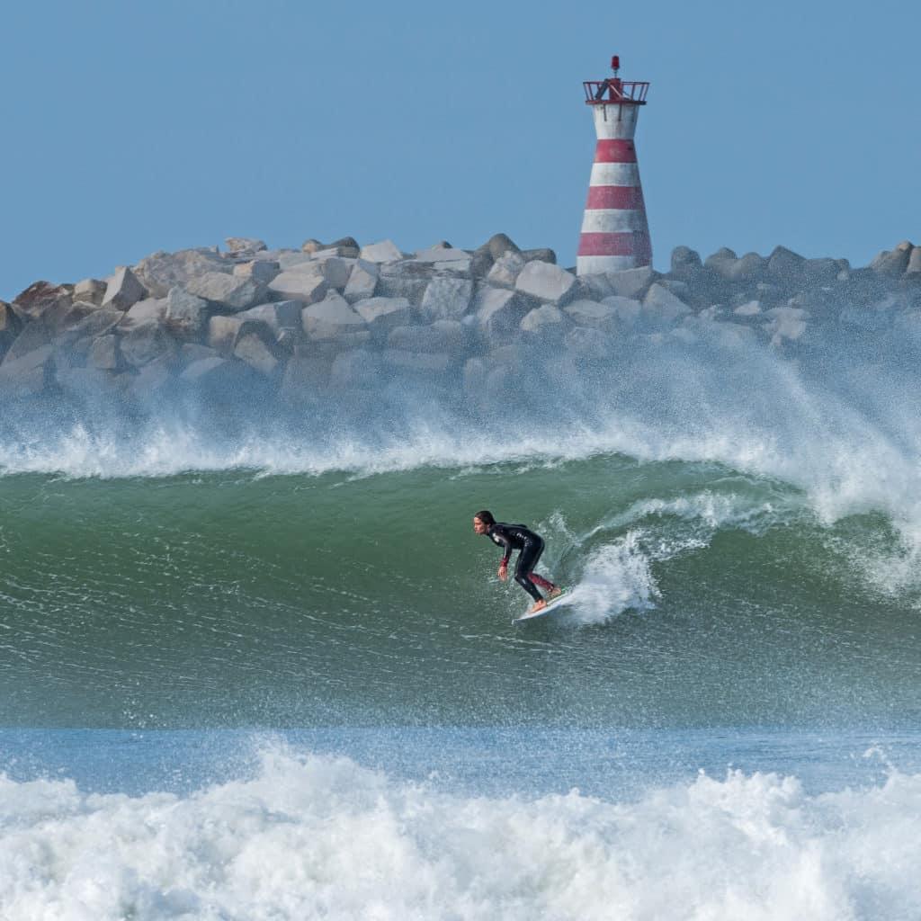Praia de Peniche em Nazaré - Viagem para Portugal