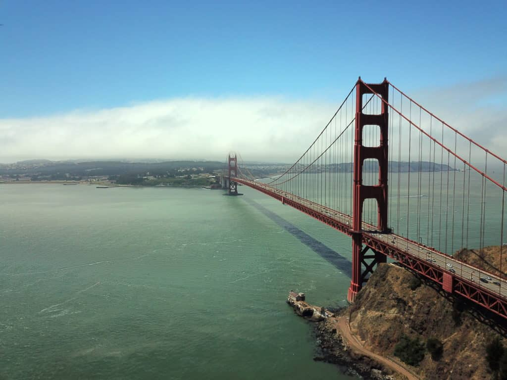 O que fazer em San Francisco California - Ponte Golden Gate