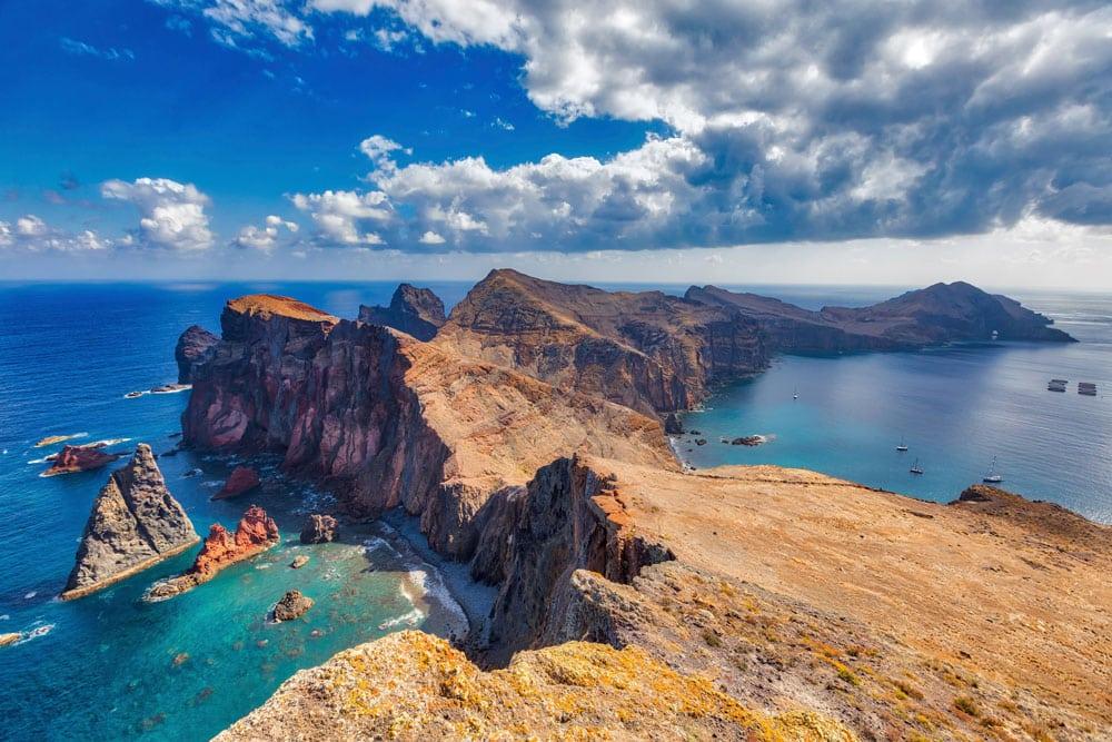 Península ao leste da Ilha da Madeira - Ilha da Madeira