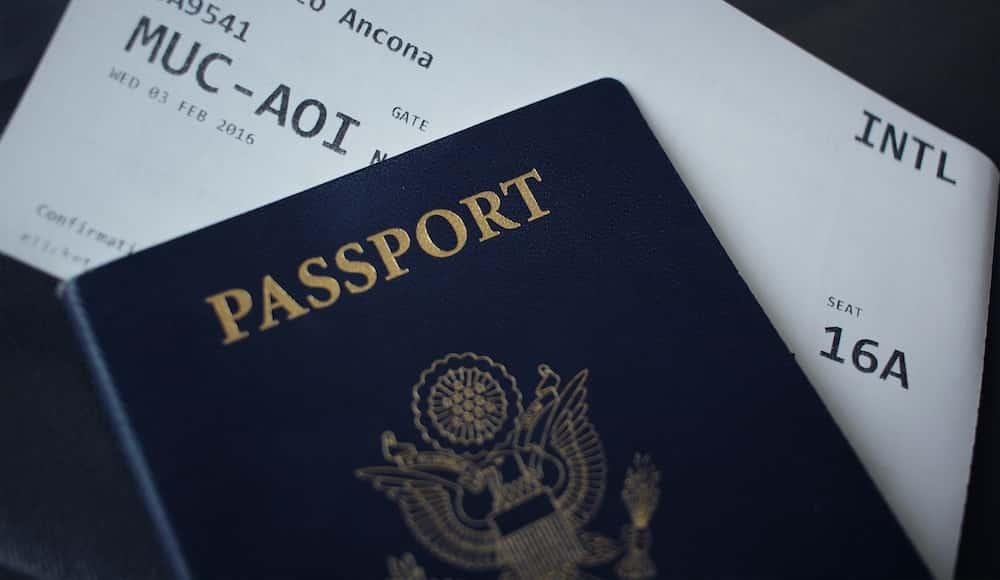 Documentos para entrar na Europa Passagem