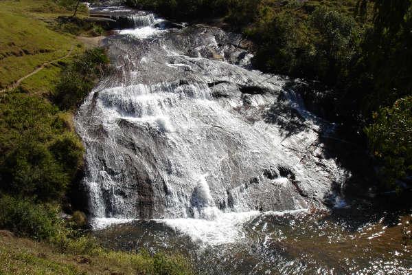Cachoeira do Cruzeiro em Gonçalves MG