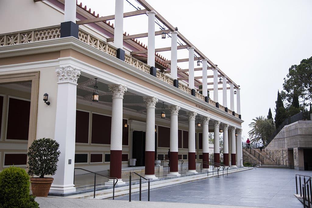 getty villa arquitetura - O que fazer em Los Angeles