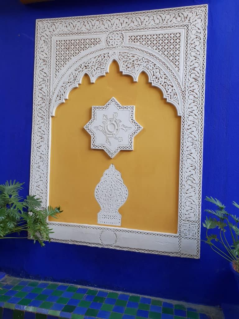 Jardim Majorelle cor Azul