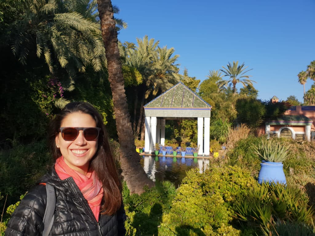 Jardim Majorelle em Marrakech, Marrocos