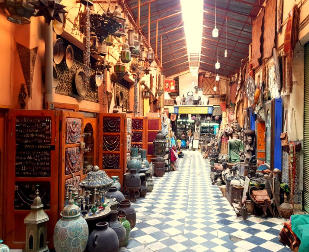 Medina Marrakech Souk