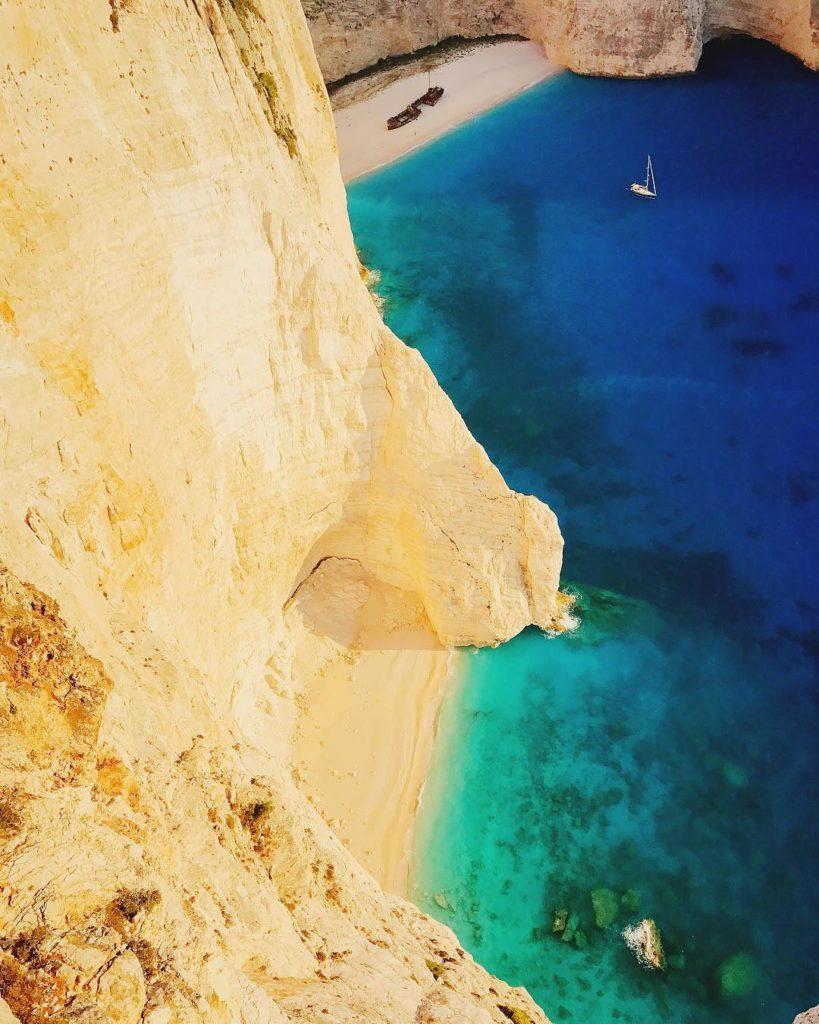 Zakynthos na Grécia