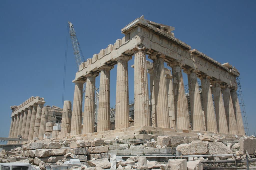 Parthenon em Atenas na Grécia - Grecia Turismo