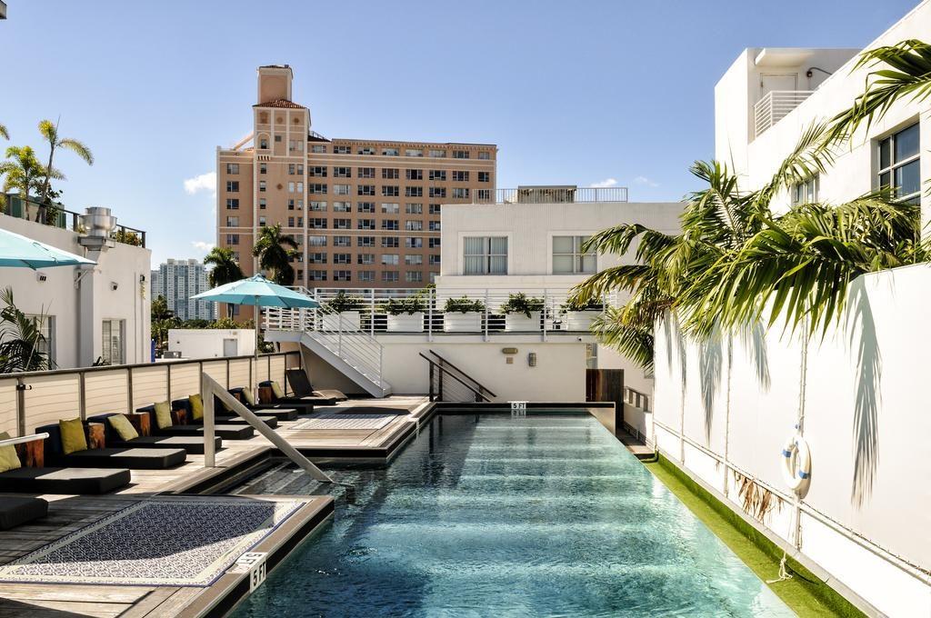 Piscina do Posh South Beach em Cancun no México