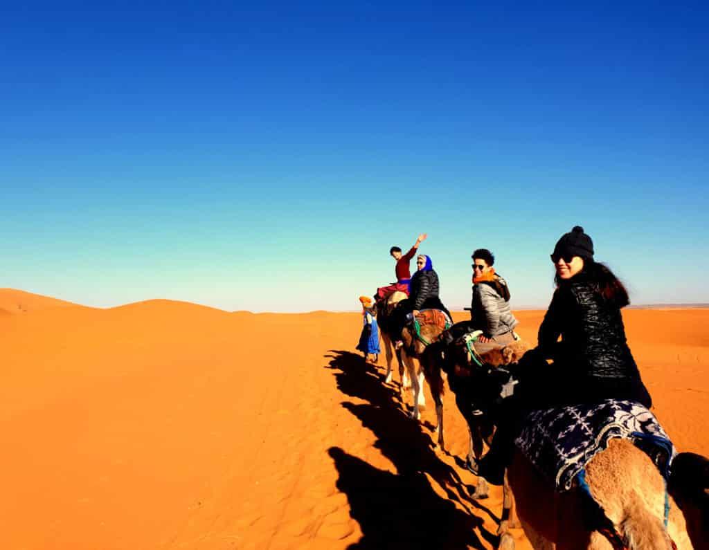 Passeio de Camelo Deserto Saara em Marrakech, Marrocos