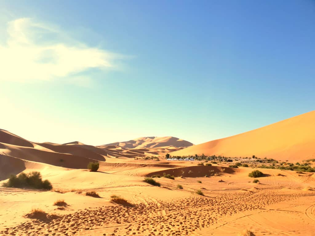 Saara Vista Geral em Marrakech, Marrocos