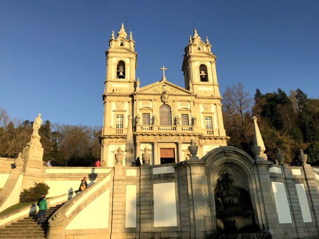 Santuário de Bom Jesus dos Montes em Braga Portugal