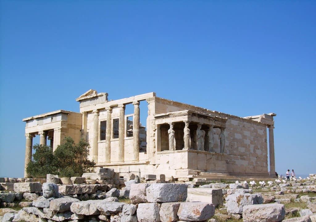 Templo de Erecteion em Atenas - Grecia Turismo