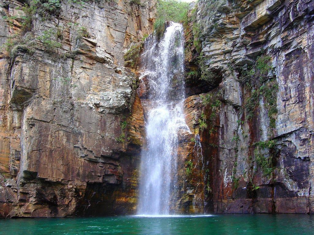 Cachoeira em Capitólio