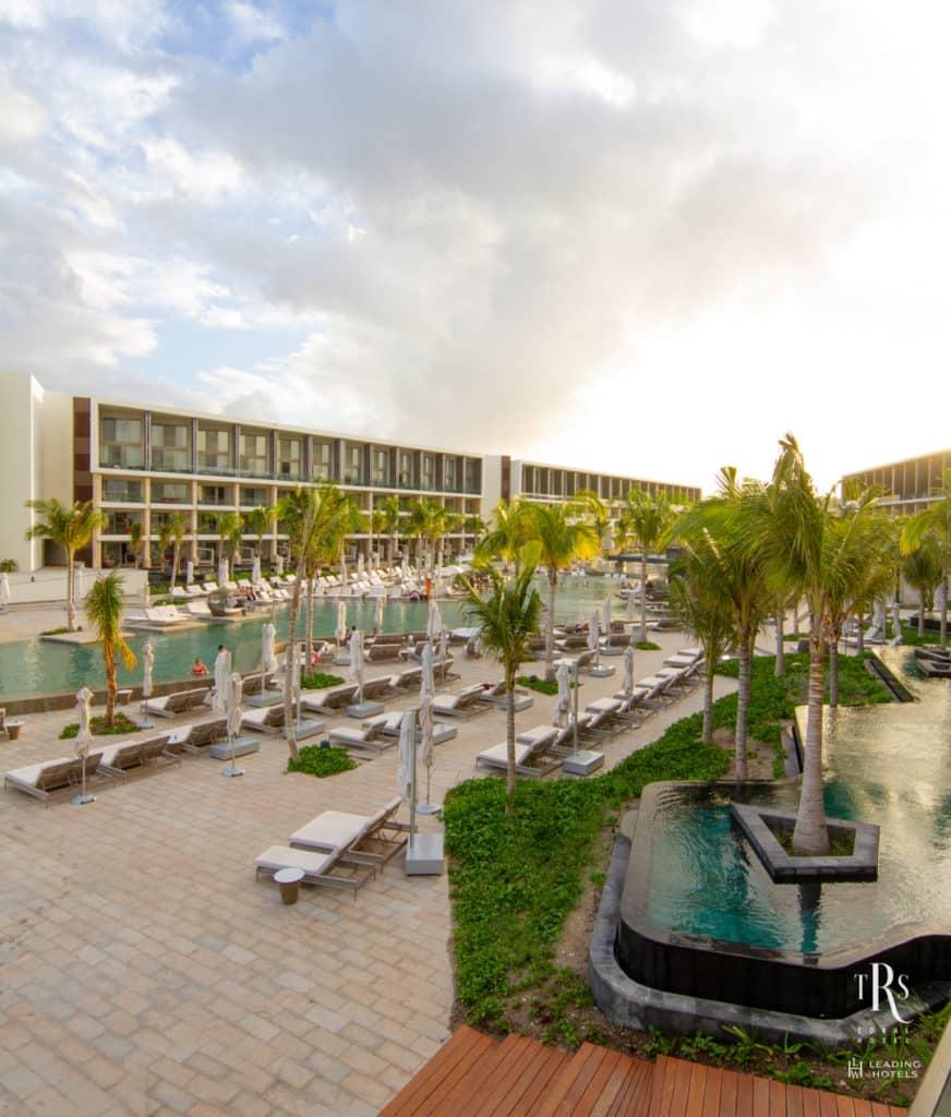Vista geral TRS Coral Hotel