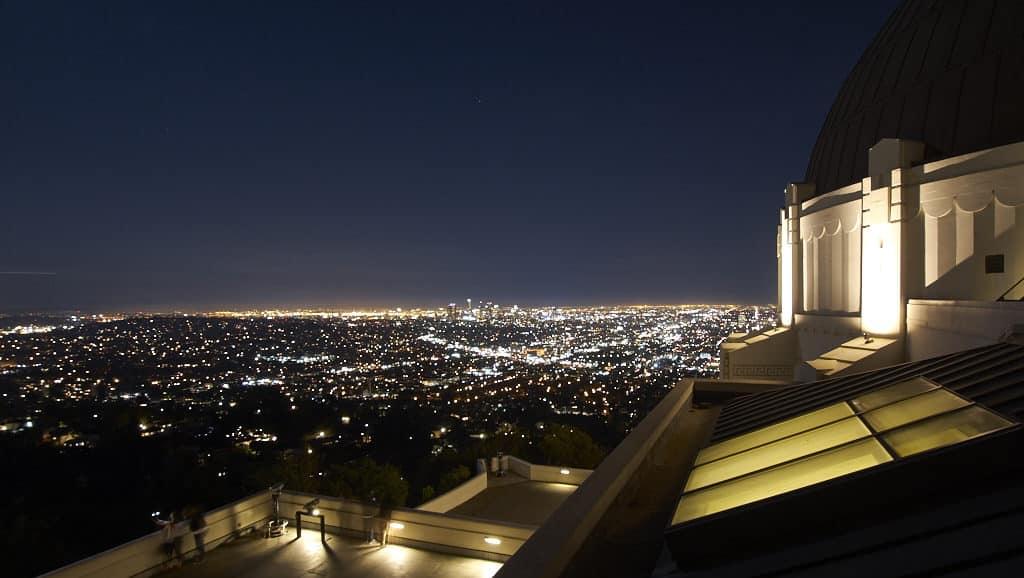 vista do Griffith Observatory