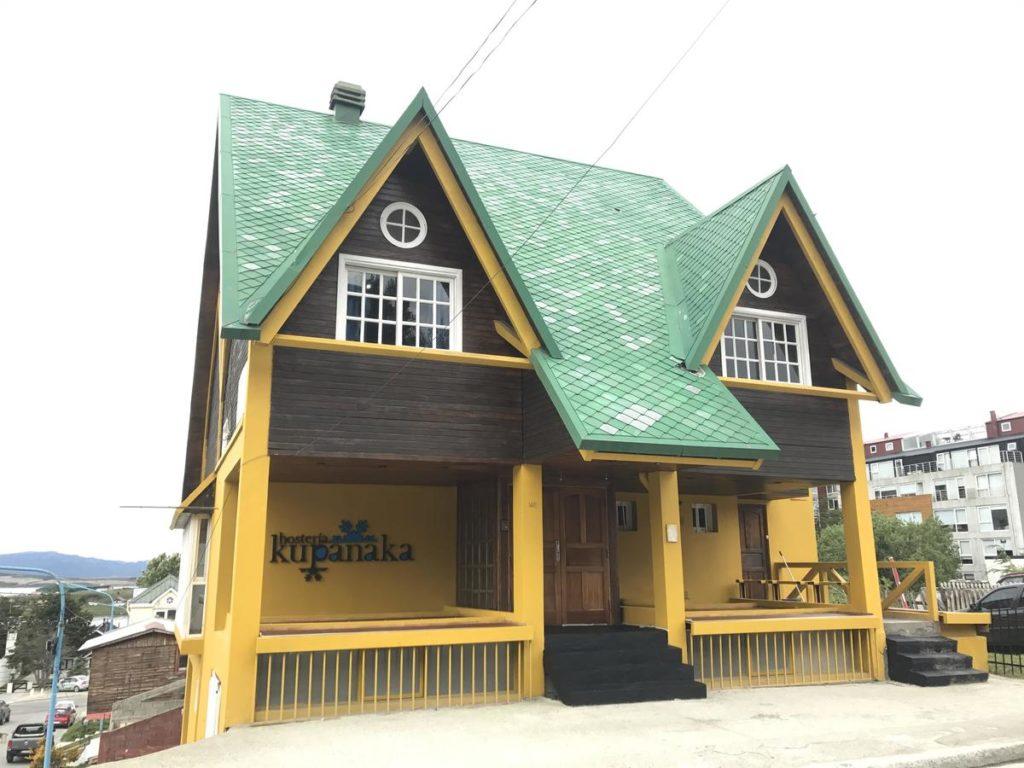 onde ficar em ushuaia - hosteria kupanaka