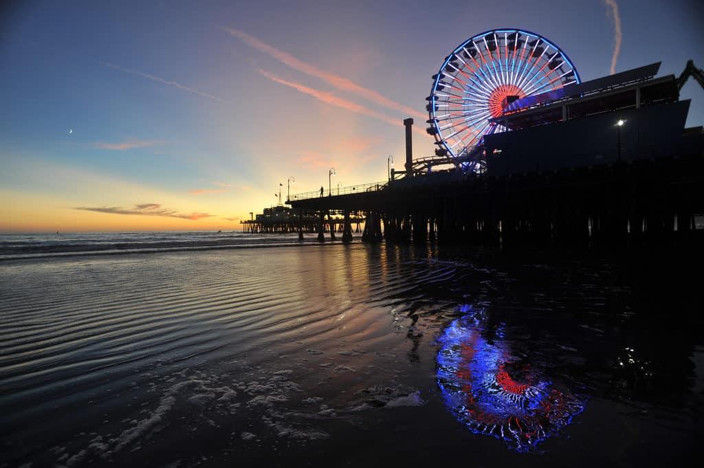 Pacific Park em Santa Monica - Foto:  Alberto Sagrado via Flickr - O que fazer em Los Angeles