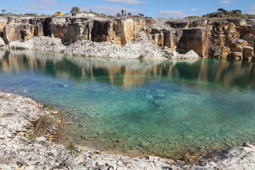 Pedreira Lagoa Azul em Capitólio