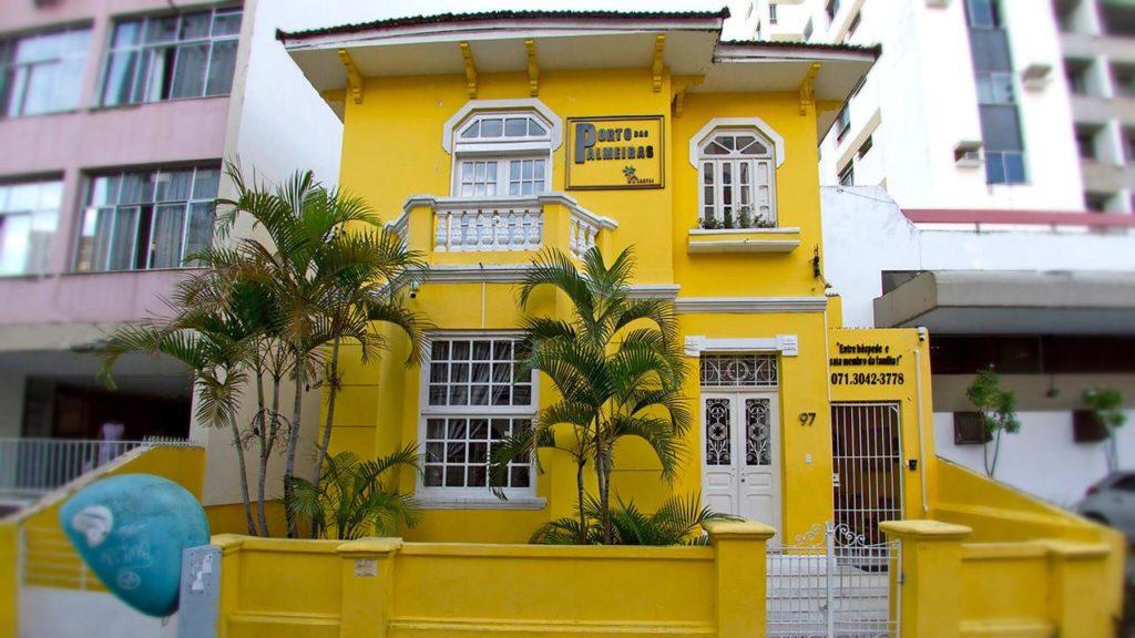 onde se hospedar barato em Salvador - Porta das Palmeiras Hostel