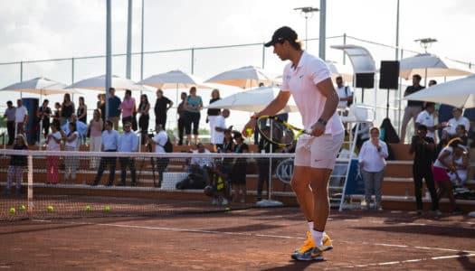 Rafa Nadal Tennis Centre: Astro do esporte inaugura complexo para hóspedes de hotel no México