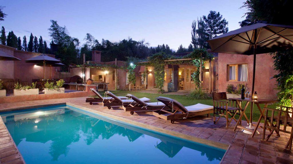 Posada Borravino - piscina