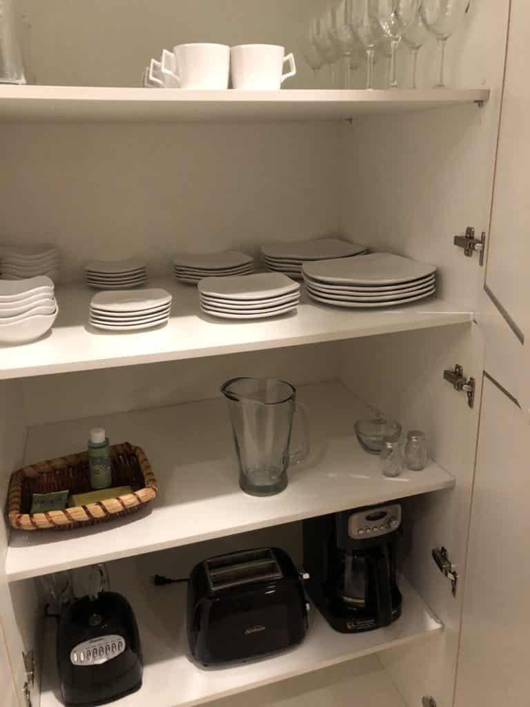 utensílios da cozinha magic village resort