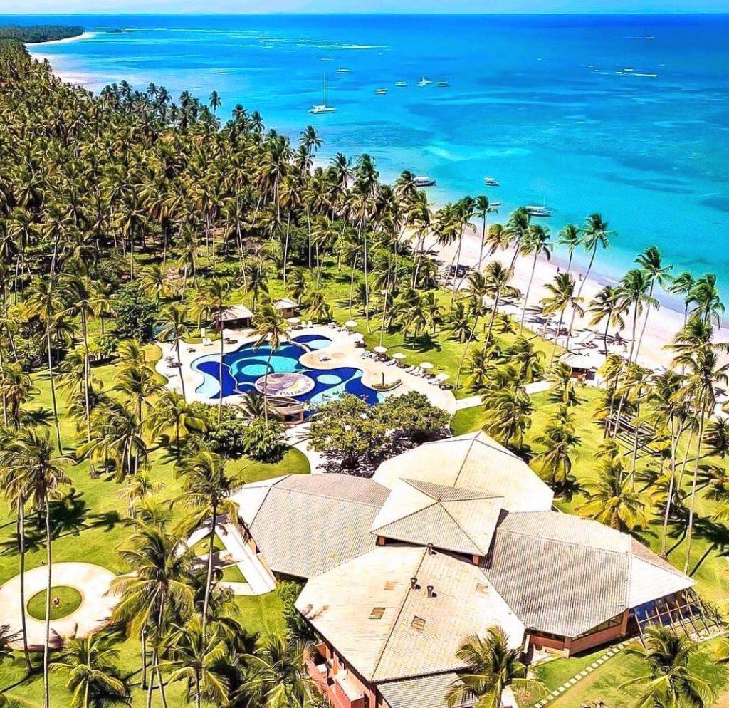 vista de cima do hotel patachocas - foto instragram