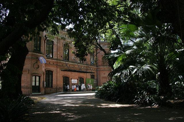 O Jardim Botânico em Palermo Buenos Aires