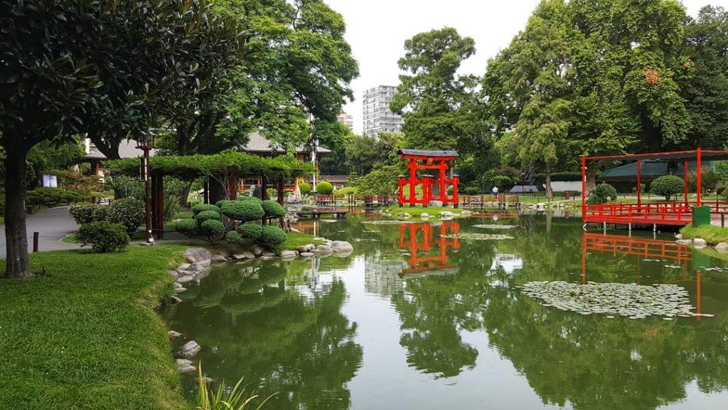 O Jardim Japonês em Palermo Buenos Aires - Foto: @jardinjapones via Instagram