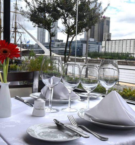 restaurantes em buenos aires em puerto madero - restaurante cristal