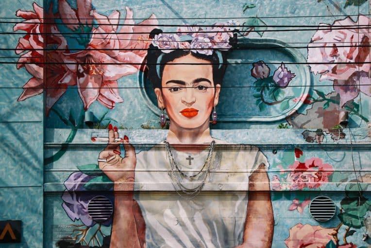 O Mural da Frida Kahlo em Palermo Buenos Aires  - Foto: Gisele Rocha