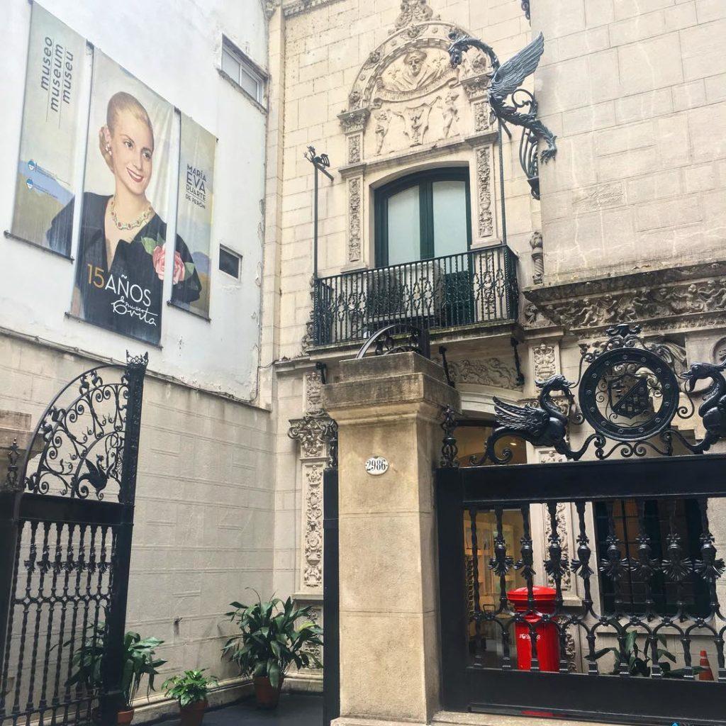 Entrada do Museu Evita em Palermo Buenos Aires - Foto: @museoevita via Instagram