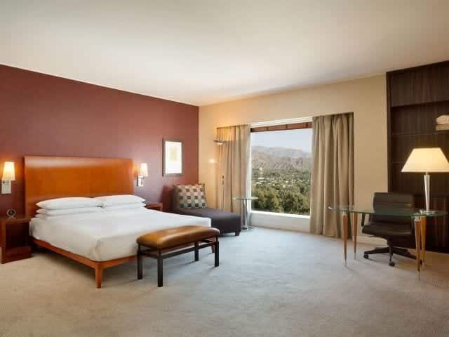 Park Hyatt - hoteis em Mendoza - quarto