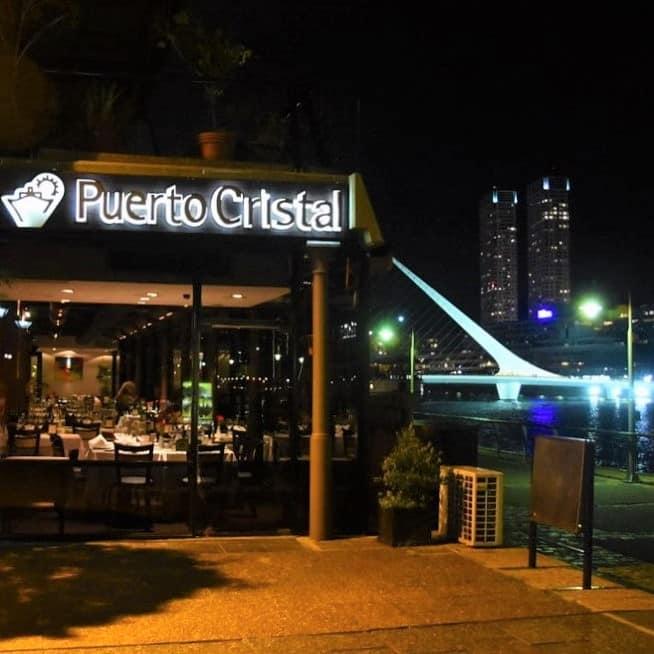 O restaurante Puerto Cristal - o que fazer em Buenos Aires
