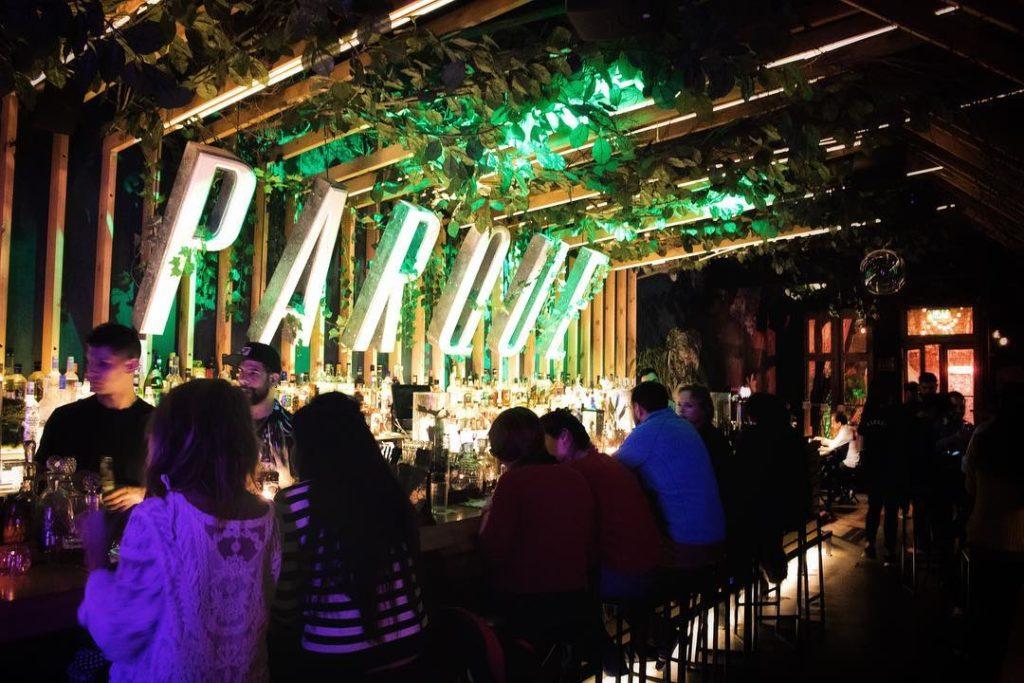 Parque Bar Botânico em Palermo Argentina