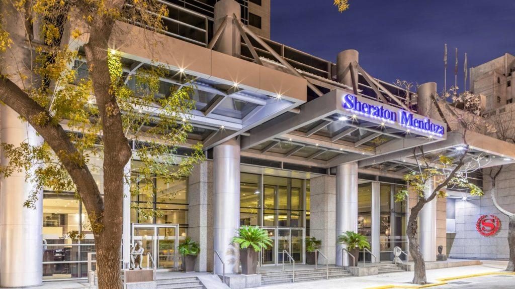 Sheraton Mendoza Hotel - entrada