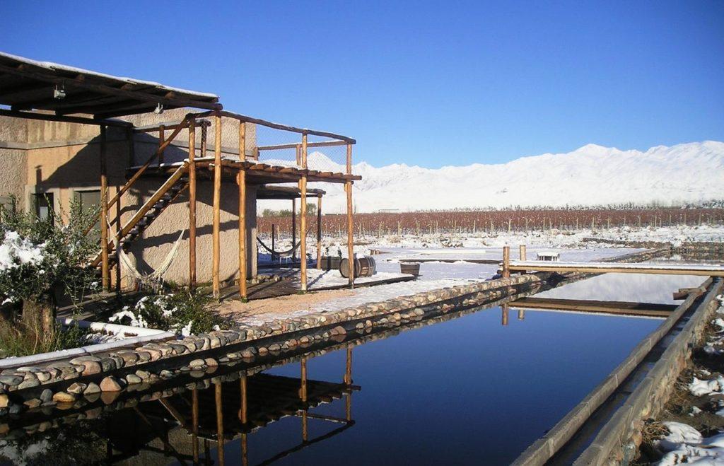 Tupungato Divino hotel no inverno
