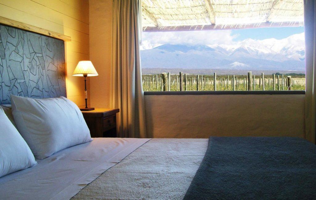 vista do quarto do Tupungato Divino Hotel - hoteis em Mendoza