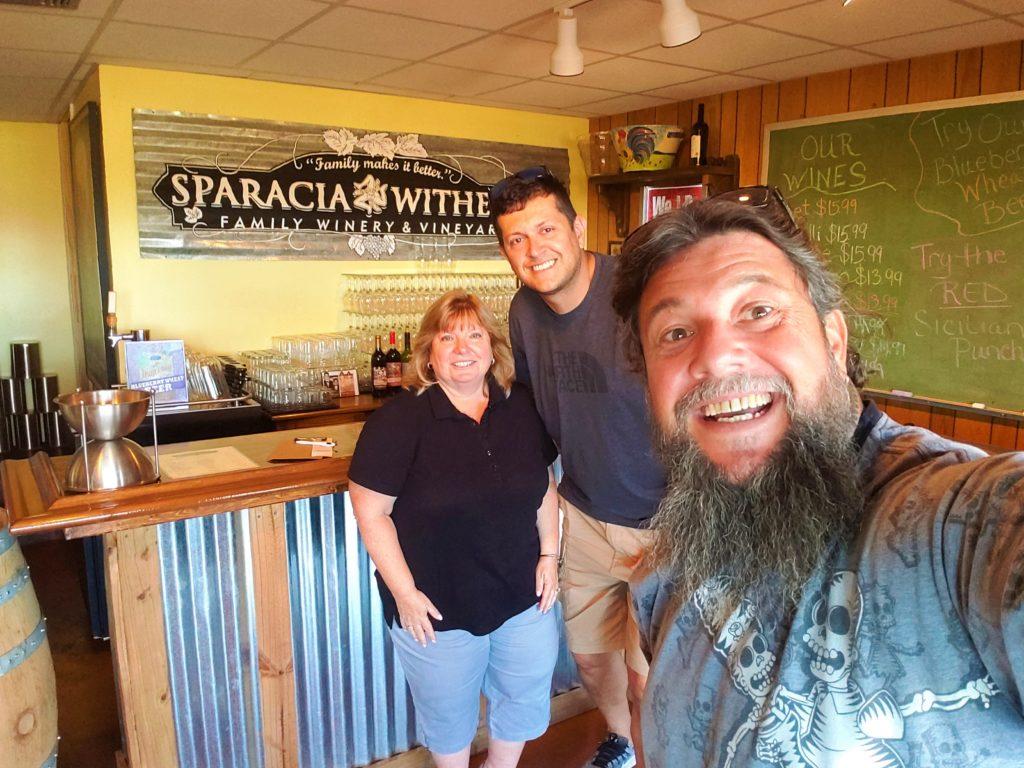 Na  Sparacia-Witherell  você vai ser atendido pela simpática família. Vale a pena conhecer.