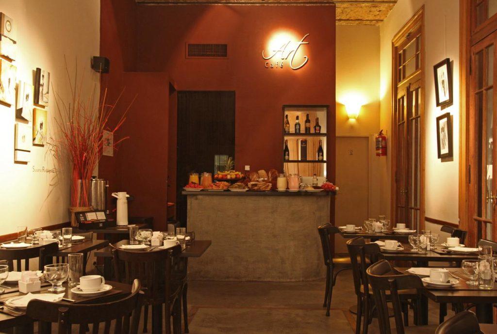 Café da manhã do A Hotel